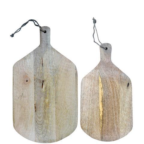 Wooden Cutting Board Duo