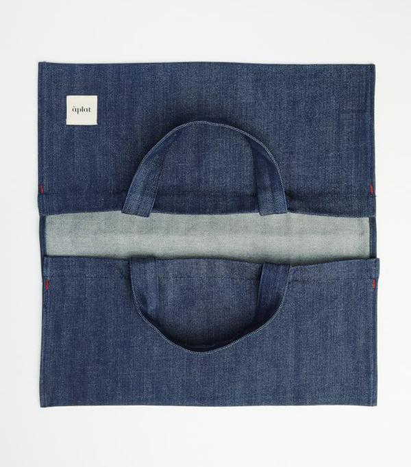 Aplat Plat Wide Tote Bag