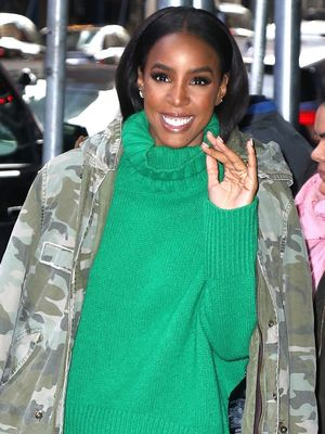 We're Into This Unique Take on Monochromatic Dressing, Kelly Rowland