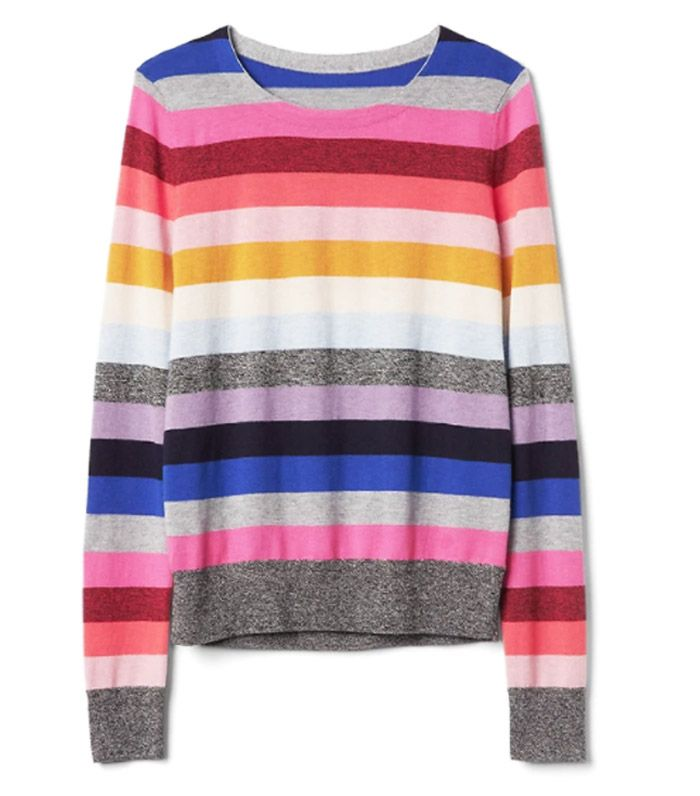 How To Wear The Rainbow Stripe Trend Who What Wear Uk