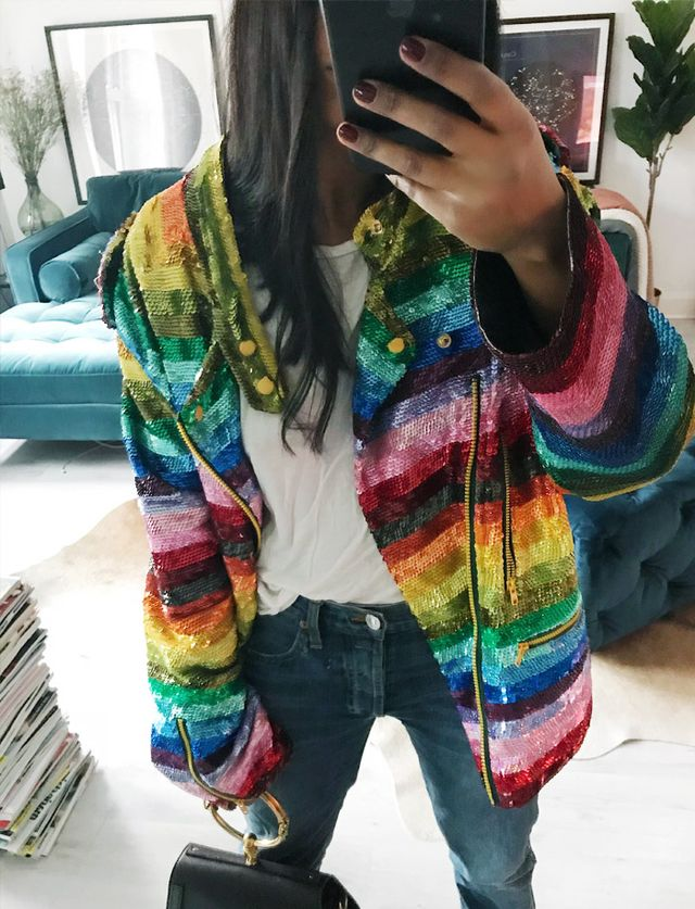How To Wear The Rainbow Stripe Trend Whowhatwear Uk