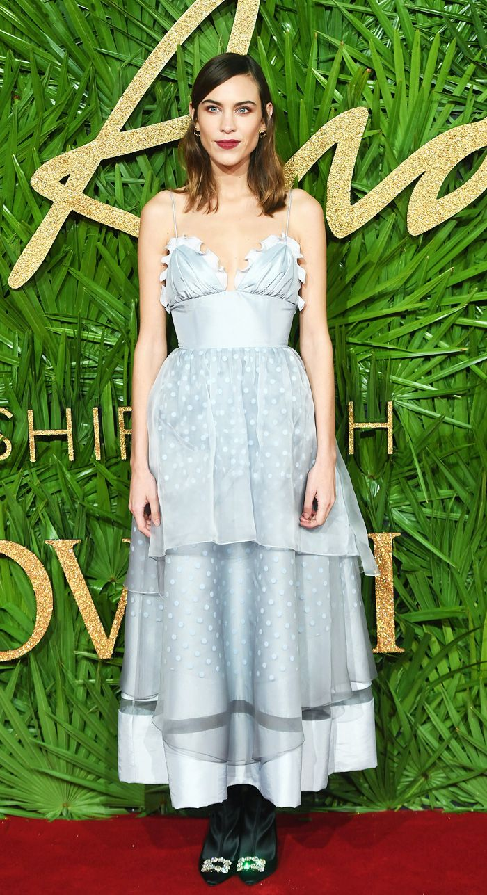 British Fashion Awards 2017: Alexa Chung