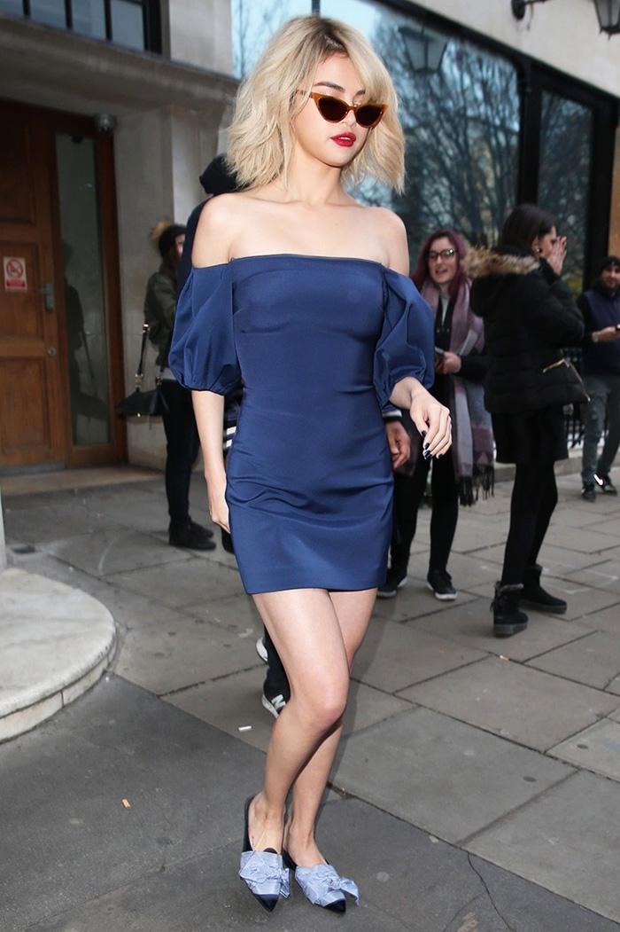 selena gomez mini dress