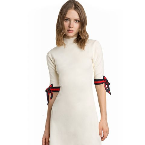 Aime Sleeve Tie Knit Dress