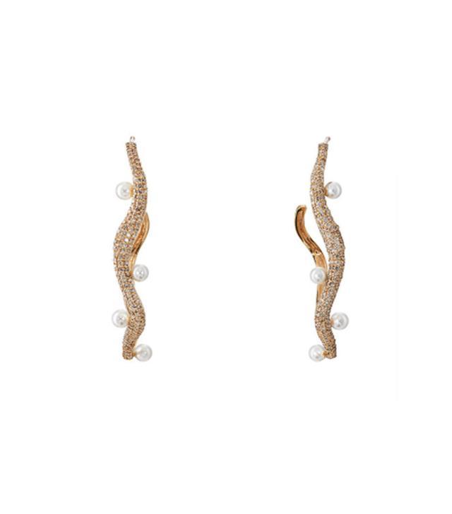 Women's Y-D-Pearl Earrings