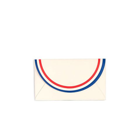 All Business Card Holder in Parisian Stripe
