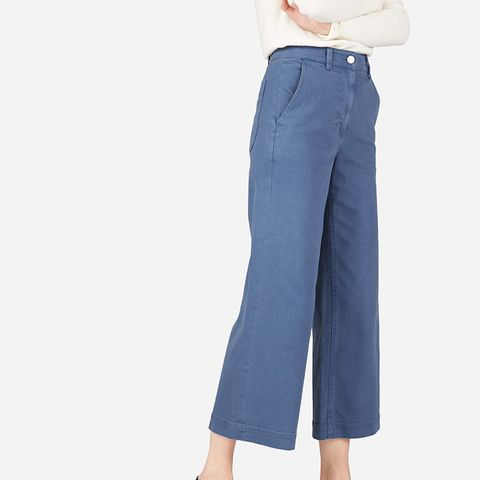 The Wide Leg Crop Pants