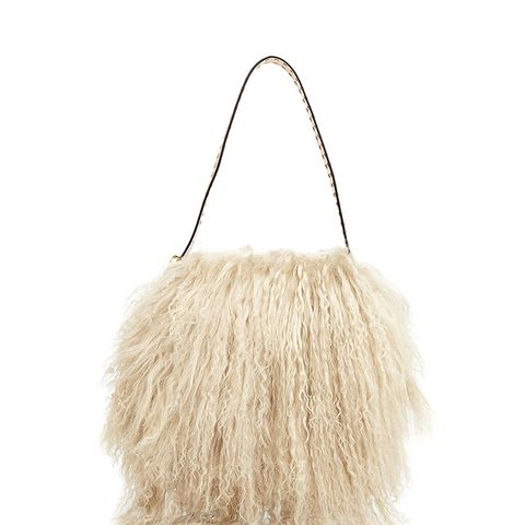 Sawyer Small Fur Shoulder Bag