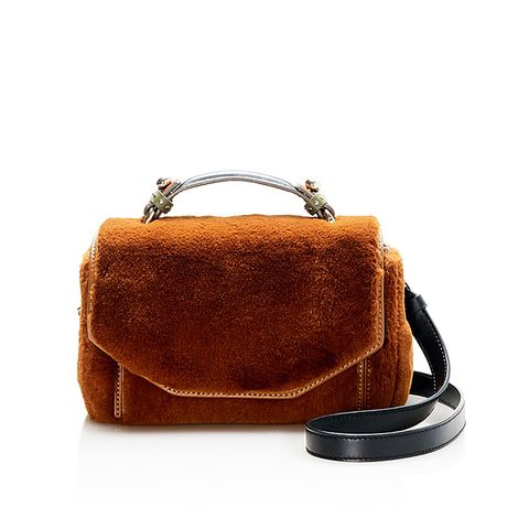 Faux-Fur Satchel