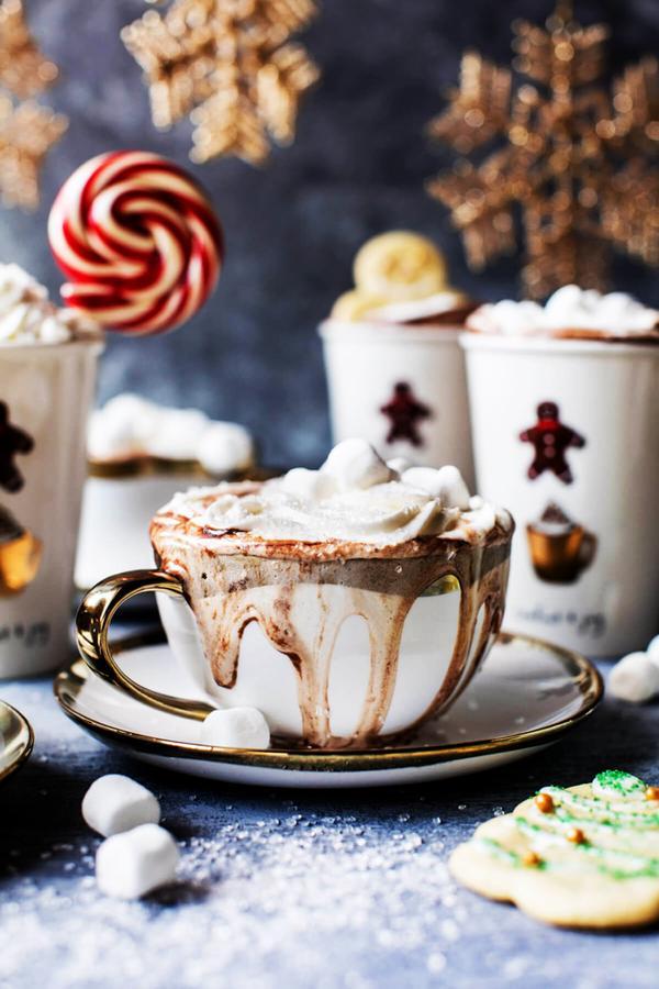 Vanilla Hot Chocolate Recipe