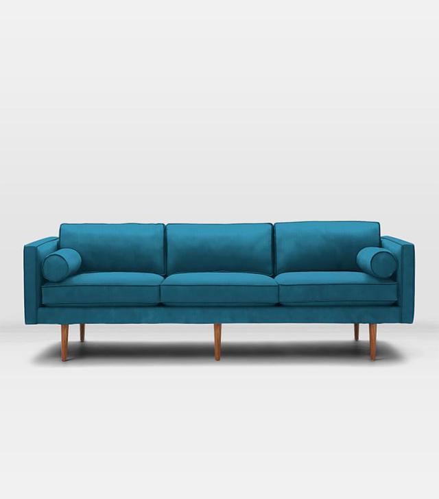 Monroe Mid-Century Grand Sofa