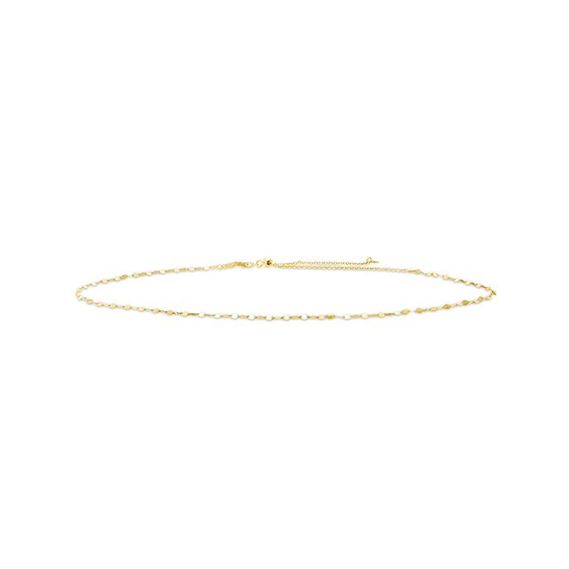 Kay Mirror Disc Choker Necklace