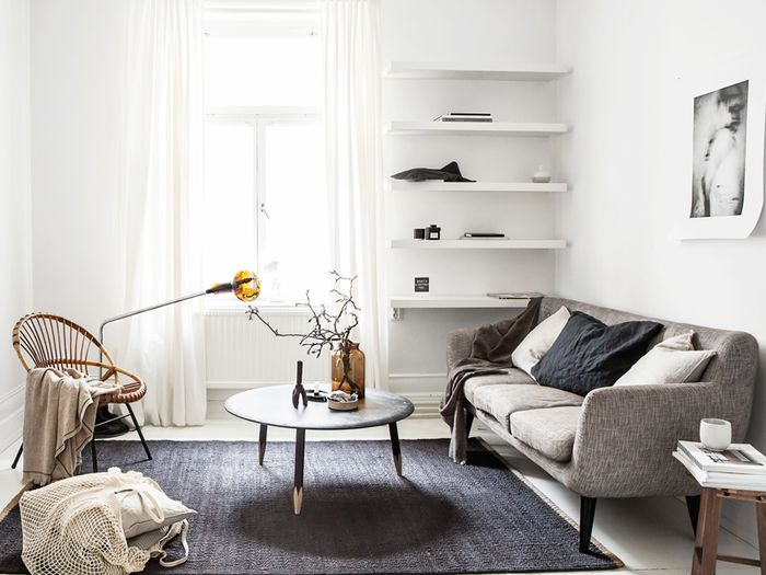 15 Stylish Sofas for Small Spaces | MyDomaine