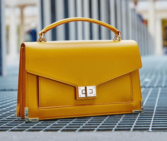 The Kooples Emily Bag in Imperial Yellow