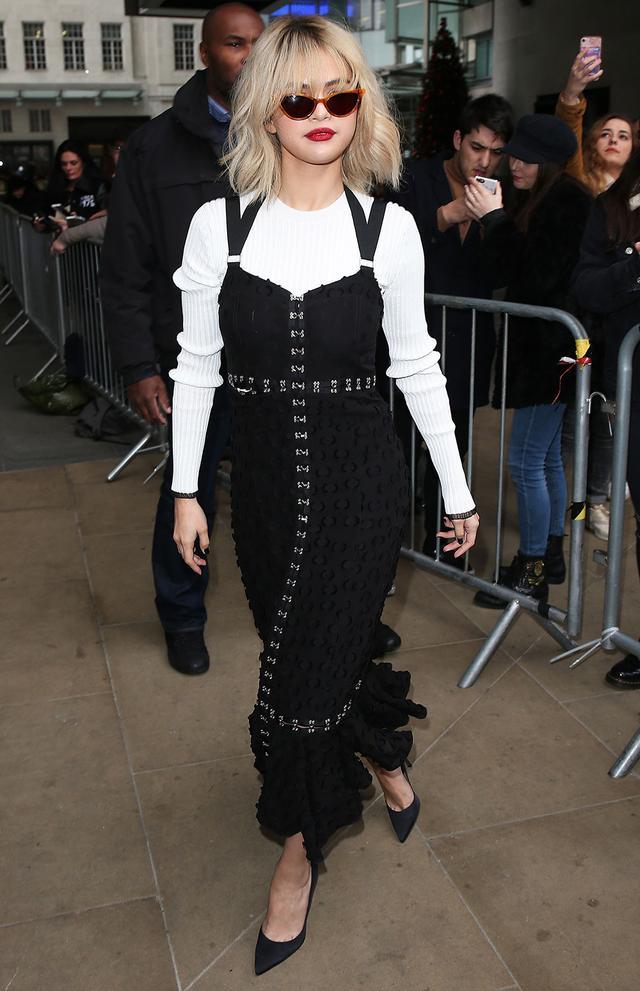 On Selena Gomez:Proenza Schouler dress