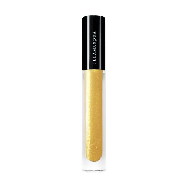 Best glitter makeup: Illamasqua Broken Gel in Gold