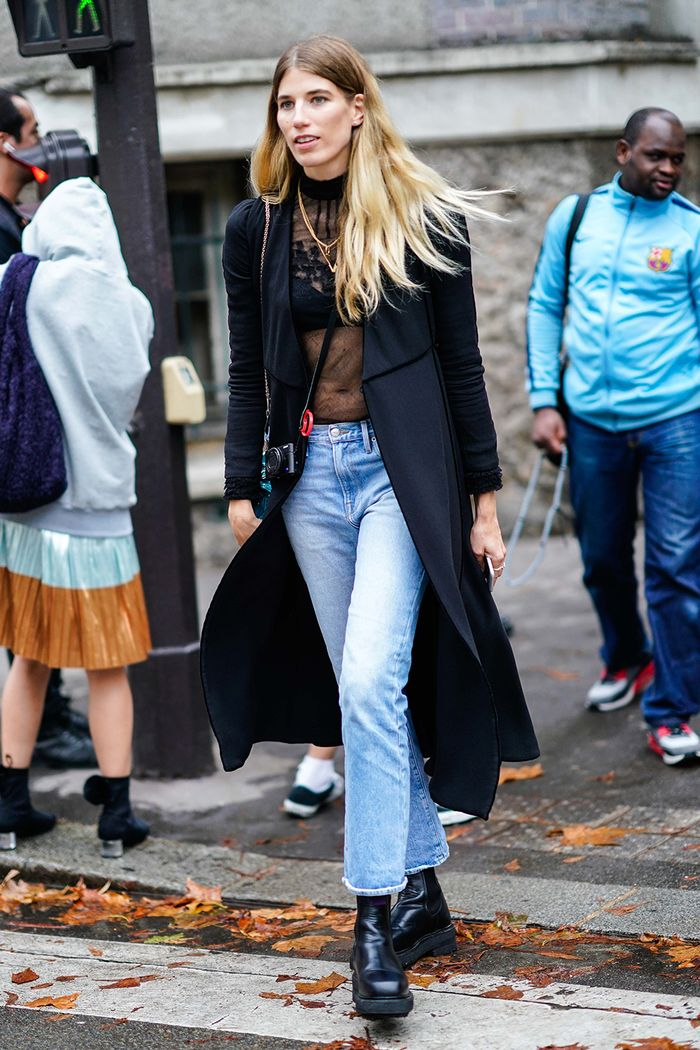 best fall jeans outfit