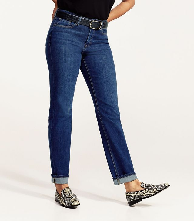 Slim-fit straight Theresa jeans