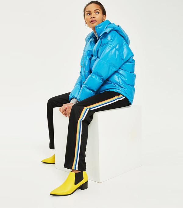 Cobalt Blue Puffer Jacket