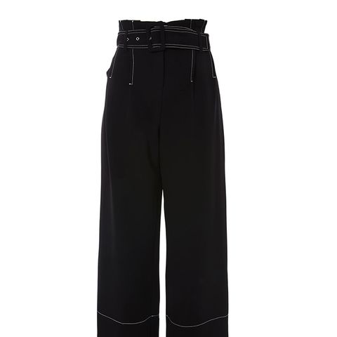 Stitch Buckle Trousers