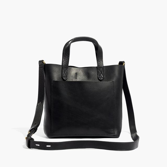 Madewell The Small Transport Crossbody Bag in True Black