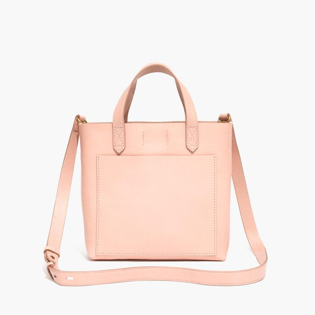 Madewell The Small Transport Crossbody Bag in Tinted Blush