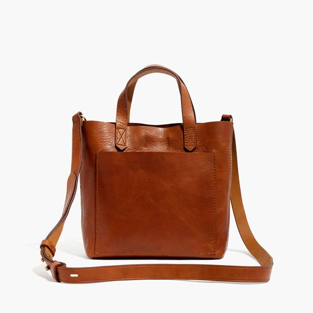 Madewell The Small Transport Crossbody Bag in English Saddle