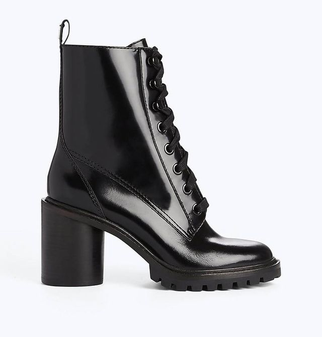 Marc Jacobs Ryder Lace-Up Ankle Boots
