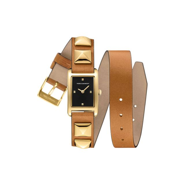 Wrap Leather Strap Watch