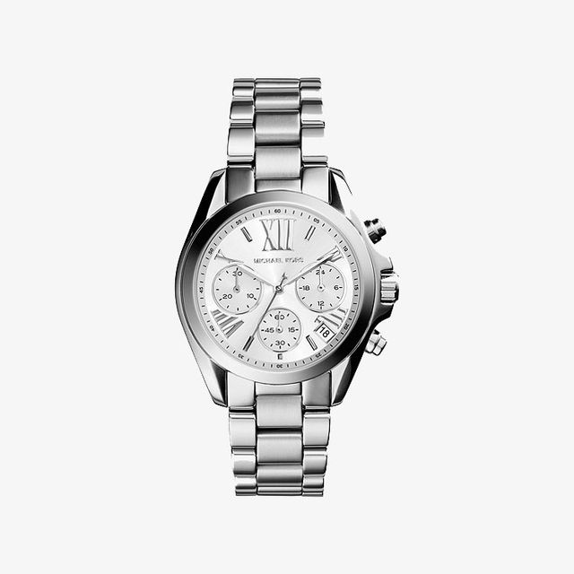 Mini Bradshaw Silver-Tone Watch