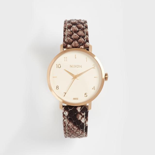 Arrow Leather Watch, 34mm