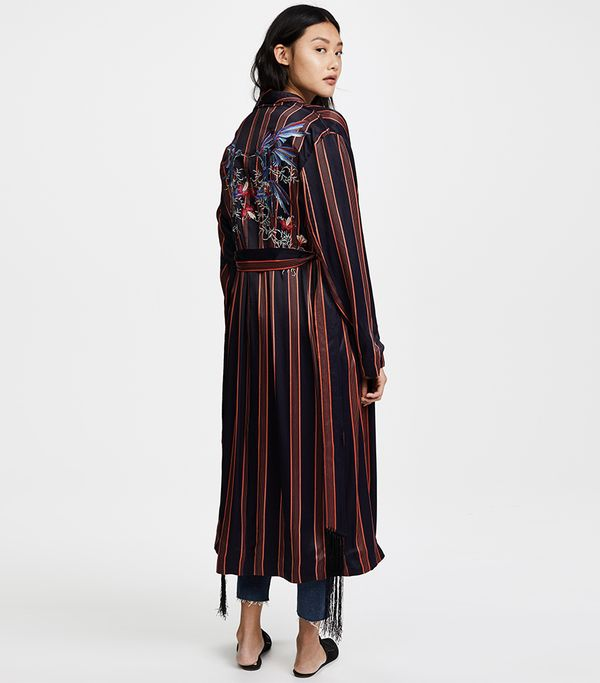 Atruim Striped Duster