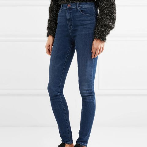 Carolina High-Rise Skinny Jeans