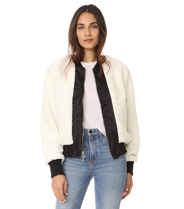 Heroine Bomber Sherpa Jacket
