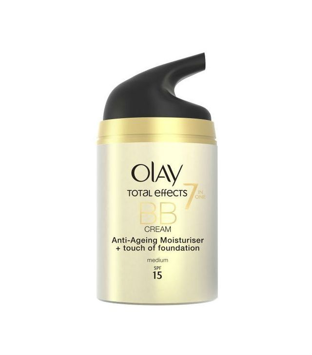 Best drugstore bb cream: Olay Total Effects 7in1 BB Cream Anti-Ageing Moisturiser + Touch of Foundation