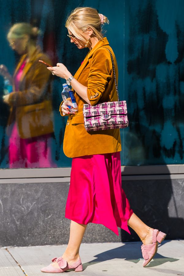 bold color fashion trend