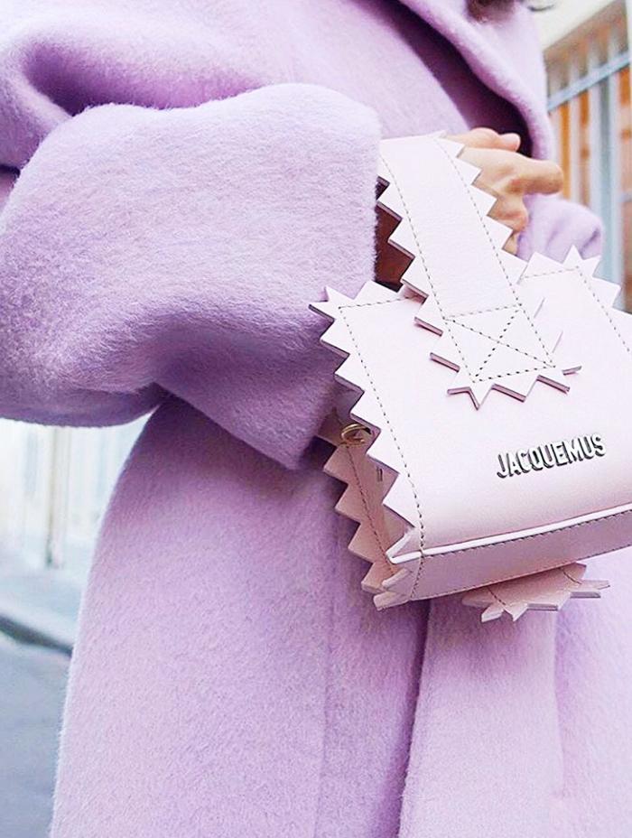 Pastel handbag trend: Jacquemus