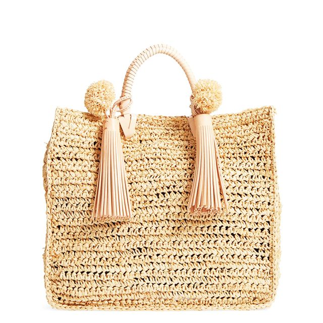 Straw Travel Tote -