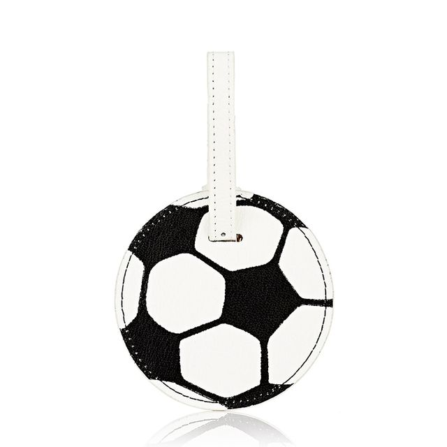 Men's Soccer Ball Luggage Tag