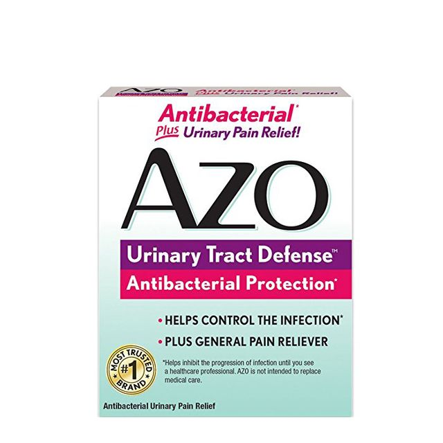 Does azo cure uti