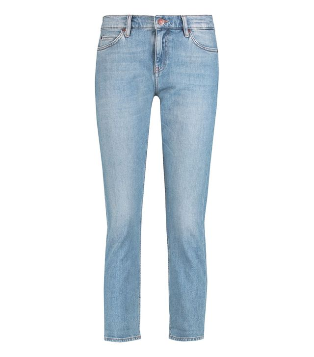 M.i.h Jeans Tomboy Mid-Rise Cropped Skinny Jeans