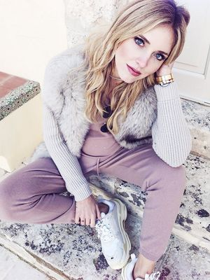Chiara Ferragni's Maternity Wardrobe Is Exactly What You'd Want It to Be