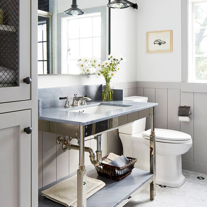 Now This Is How to Decorate a Small Bathroom | MyDomaine
