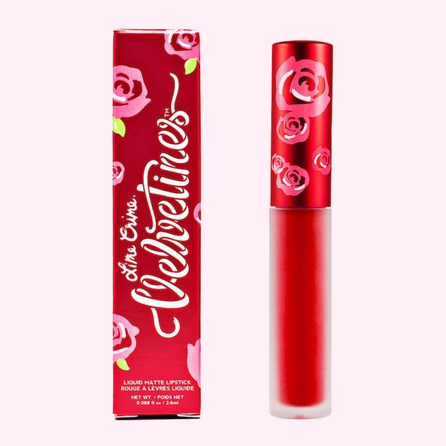 Lime Crime Red Velvet Matte Red Lipstick