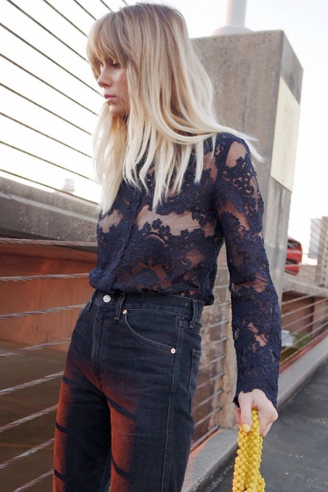 ways to wear lace