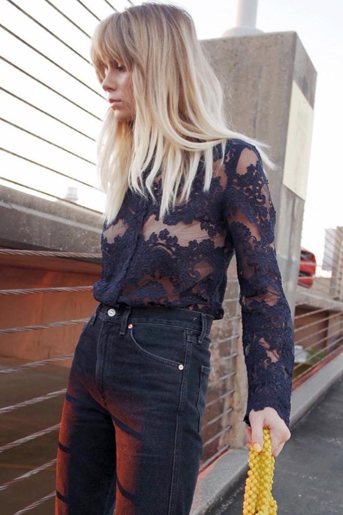 ways to wear lace