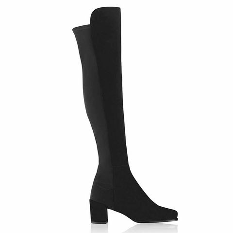 50/50 Mid Heel Over Knee Boot