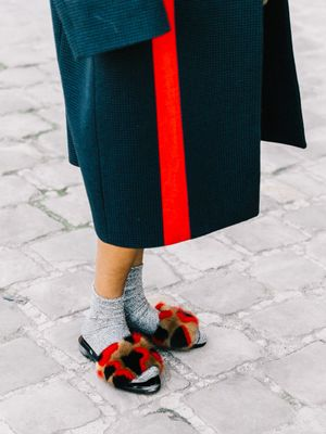 This Is the Coziest Street Style Trend