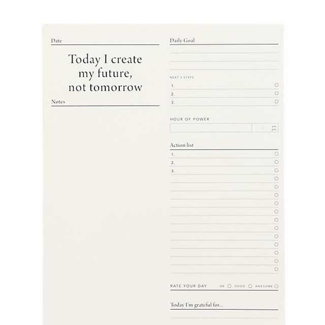 Mi Goals Daily Desk Pad