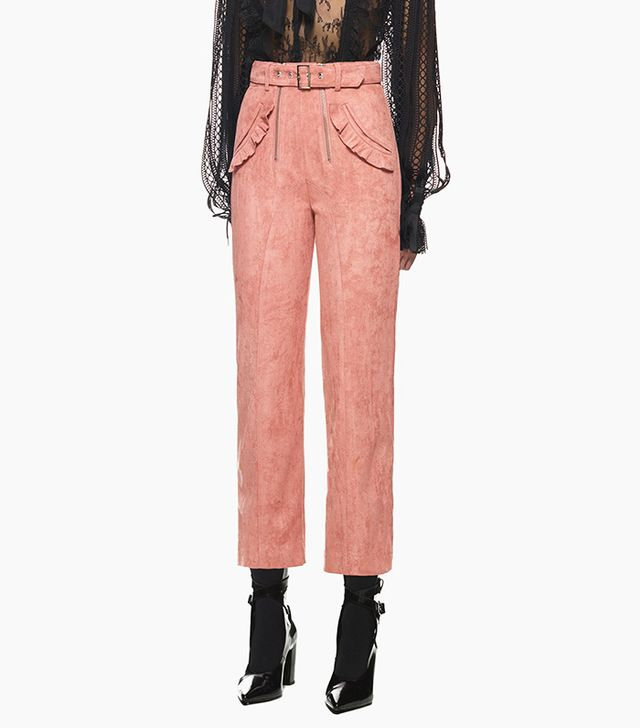 Self-Portrait Pink Lexi Trousers